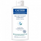 Gel Nettoyant Purifiant Menthe Tea Tree Bio, Cattier - Soin du visage - Cleanser et savon