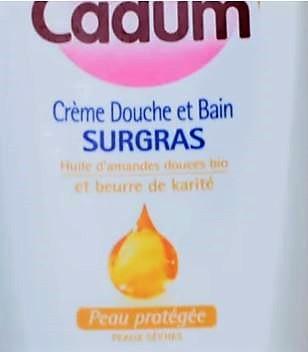 Swatch Crème Douche et Bain SURGRAS, Cadum