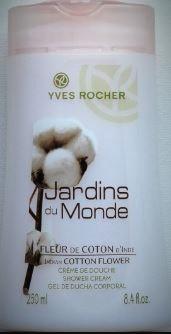 Swatch Crème de douche à la Fleur de coton, Yves Rocher