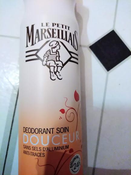 Swatch Déodorant Soin à l'Huile d'Argan & Huile Essentielle de Sauge, Le Petit Marseillais