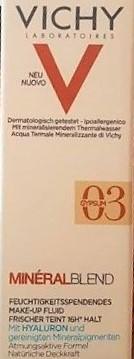 Swatch Mineral Blend Fond de Teint Hydratant Teint Frais, Vichy