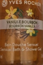 Swatch Bain Douche Sensuel - Vanille Bourbon de Yves Rocher, Yves Rocher