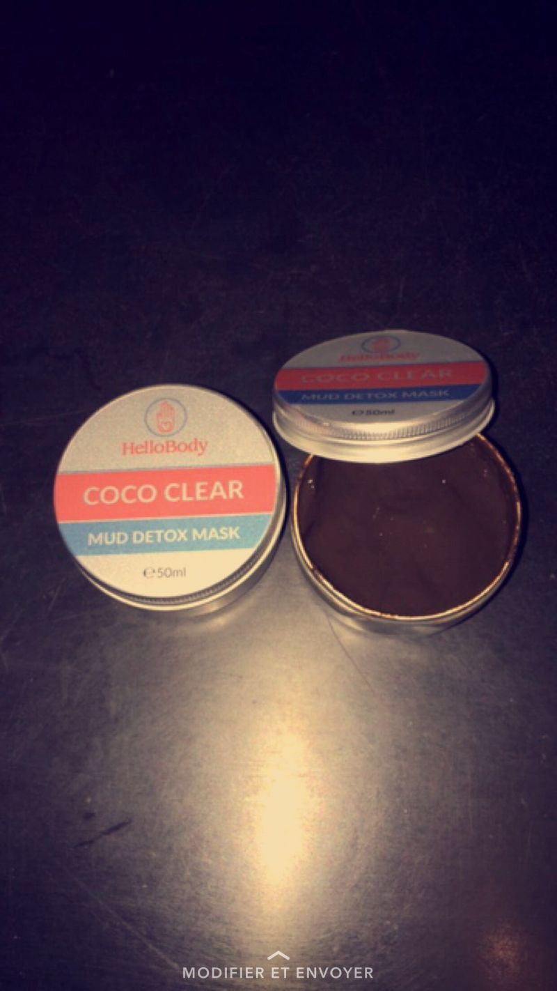 Swatch Coco Clear Detox Masque, HelloBody