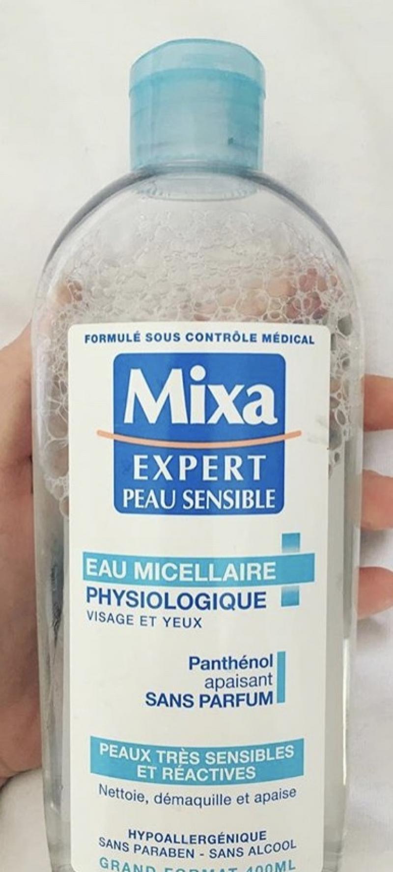 Swatch Eau Micellaire Physiologique, Mixa