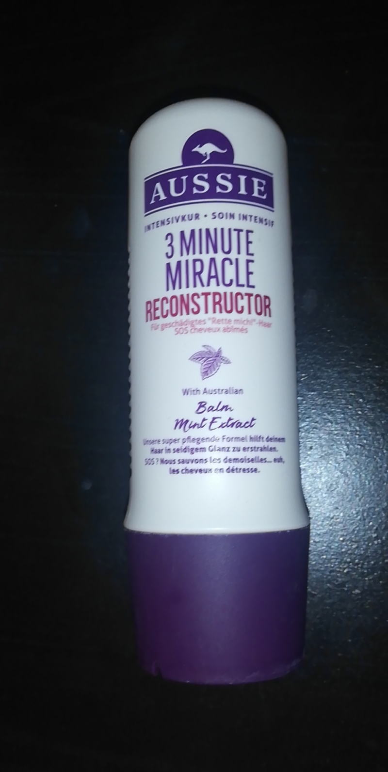 Swatch 3 Minute Miracle Reconstructor, Aussie