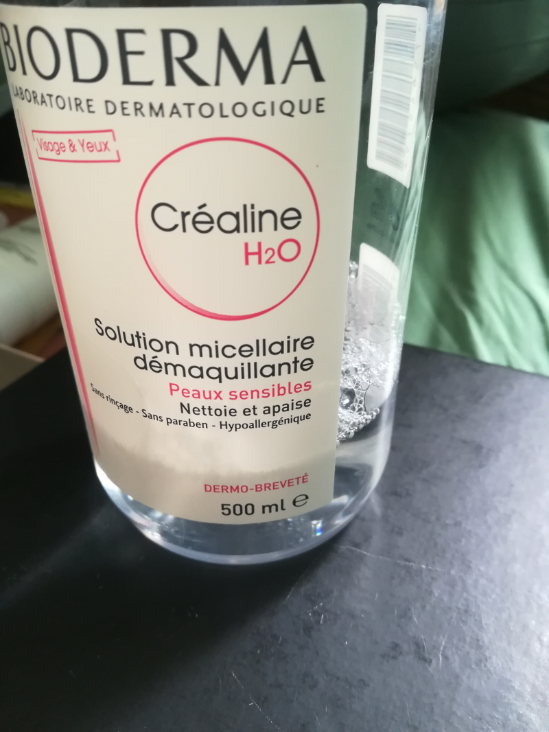 Swatch Solution Micellaire Créaline H20 AR, Bioderma
