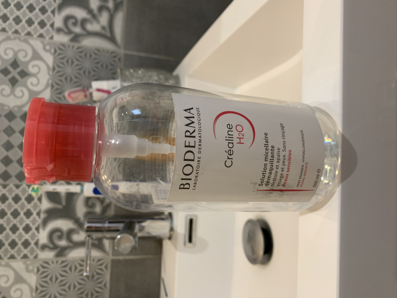 Swatch Créaline H2O Solution Micellaire Démaquillante, Bioderma