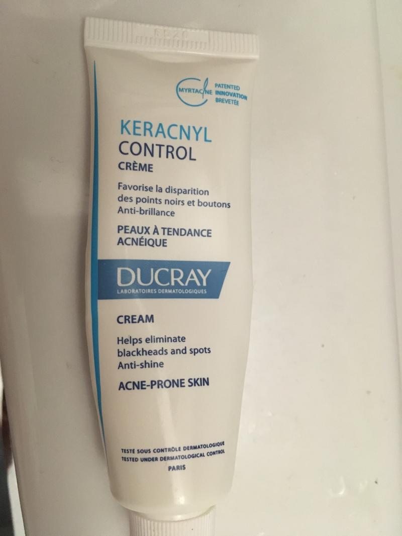 Swatch Keracnyl Control Crème, Ducray