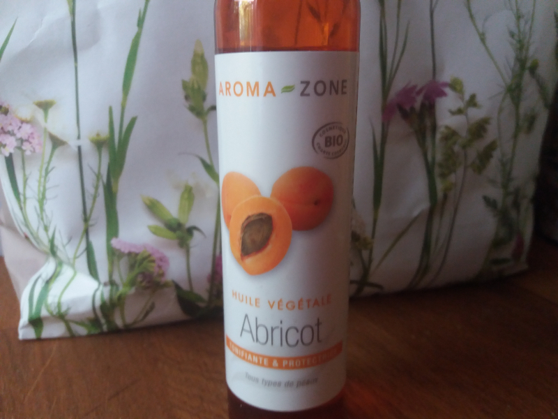 Swatch Huile végétale abricot, Aroma-Zone
