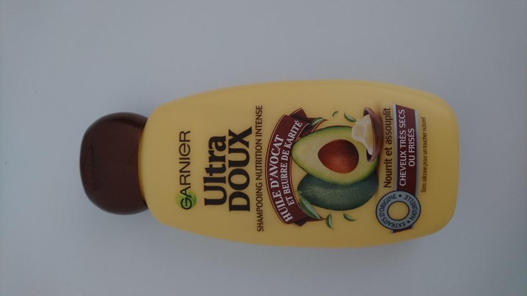 Swatch Ultra Doux Shampoing Nourrissant huile d'avocat et beurre de karité, Garnier