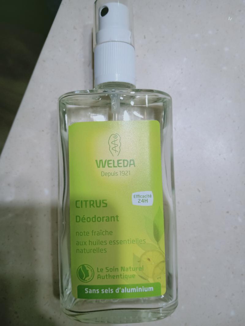 Swatch Deodorant au Citrus, Weleda