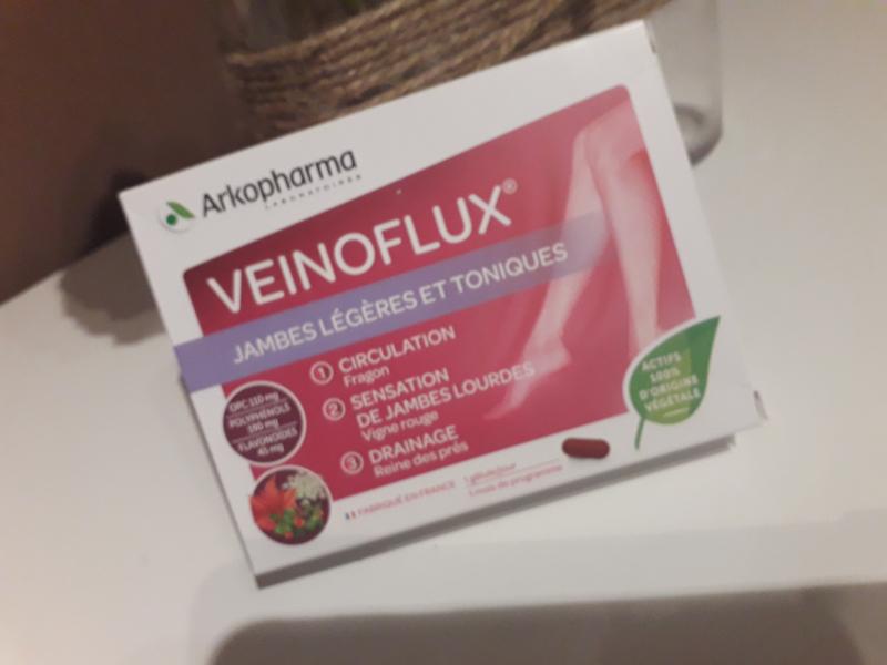 Swatch Veinoflux jambes lourdes - 30 gélules, Arkopharma