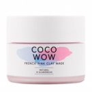 Coco Wow French Pink Clay Mask, HelloBody - Soin du visage - Masque