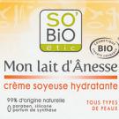 Mon lait d'ânesse crème soyeuse hydratante