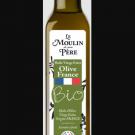 Huile d'olive vierge extra biologique origine France