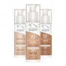 Crème solaire visage teintée SPF30