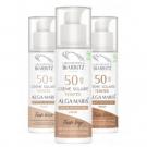 Crème solaire visage teintée SPF50 haute protection
