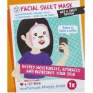Facial sheet mask, Action - Soin du visage - Masque