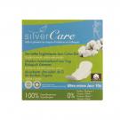 Serviette hygiénique jour en coton bio Silvercare