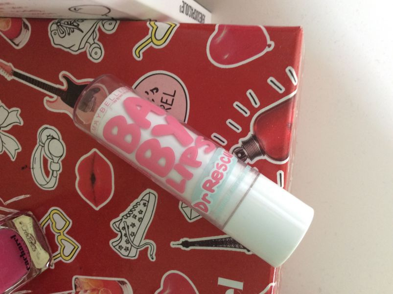 Swatch Babylips Dr Rescue, Gemey-Maybelline