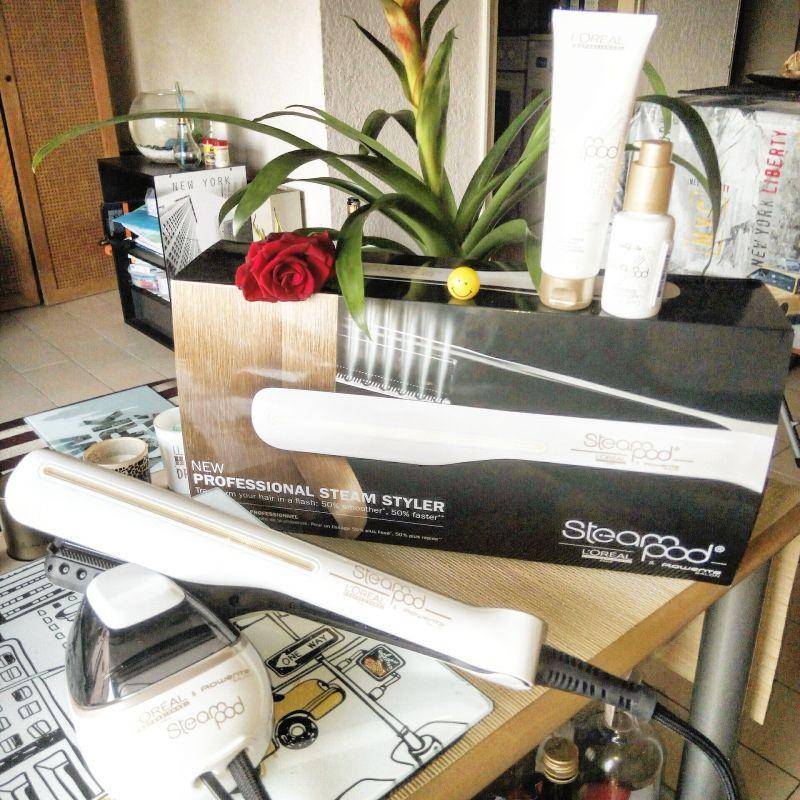 avis steampod lisseur vapeur professionnel l 39 or al. Black Bedroom Furniture Sets. Home Design Ideas