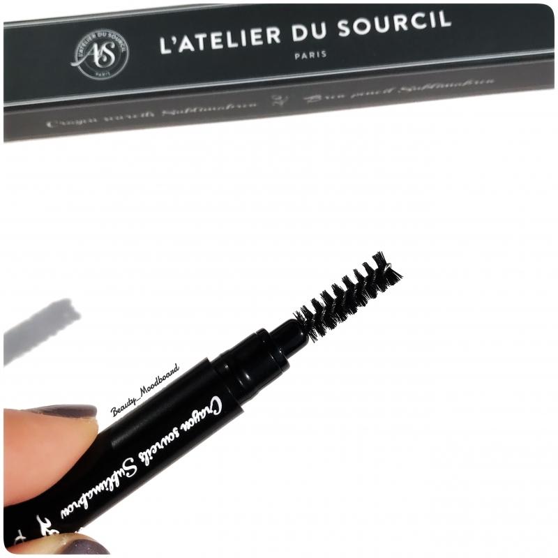 Swatch Crayon Sourcils Biseauté Sublimabrow, L'Atelier du Sourcil