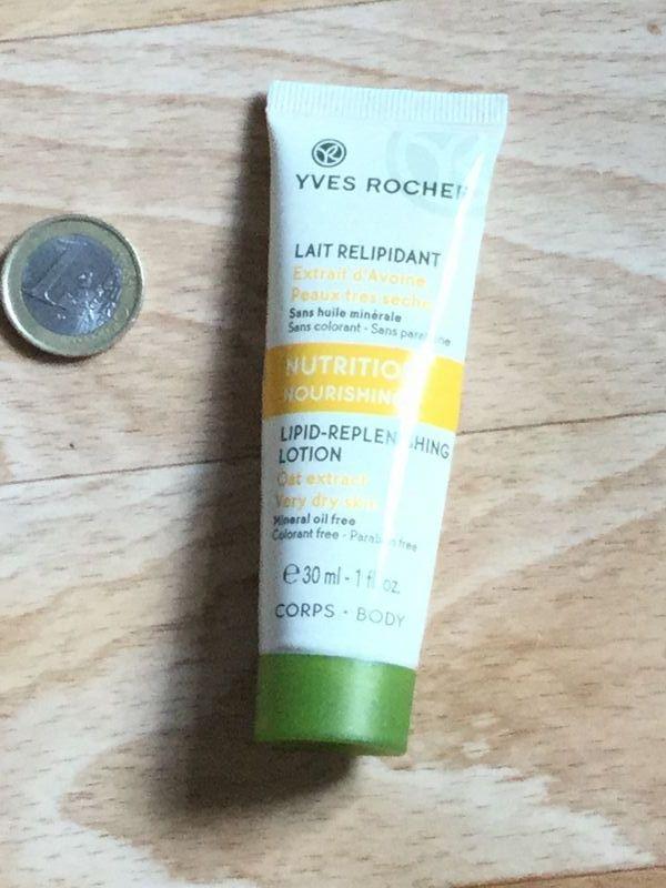 Swatch Lait Relipidant - Peaux très sèches, Yves Rocher
