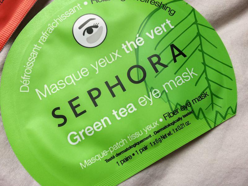 Swatch Masque visage tissu effet seconde peau, Sephora
