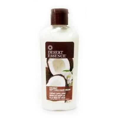 Coconut Soft Curls Hair Cream, Desert Essence - Infos et avis