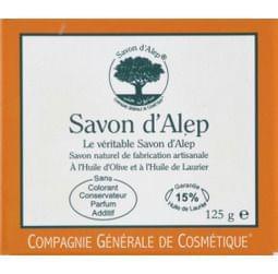 Savon d'Alep, Compagnie Générale De Cosmétique - Infos et avis