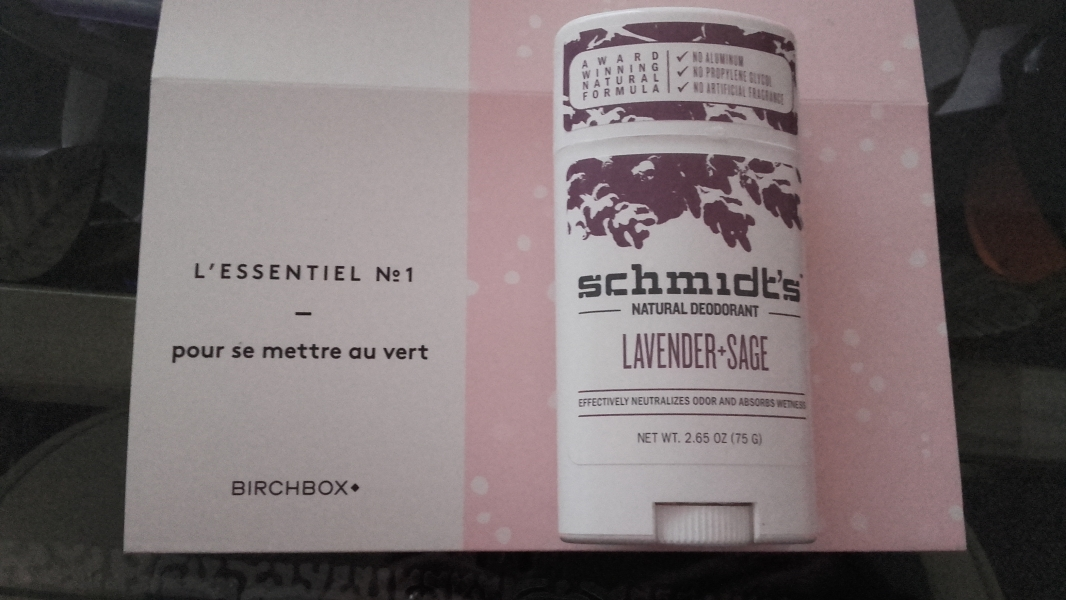 Swatch Déodorant stick Naturel, Schmidt's