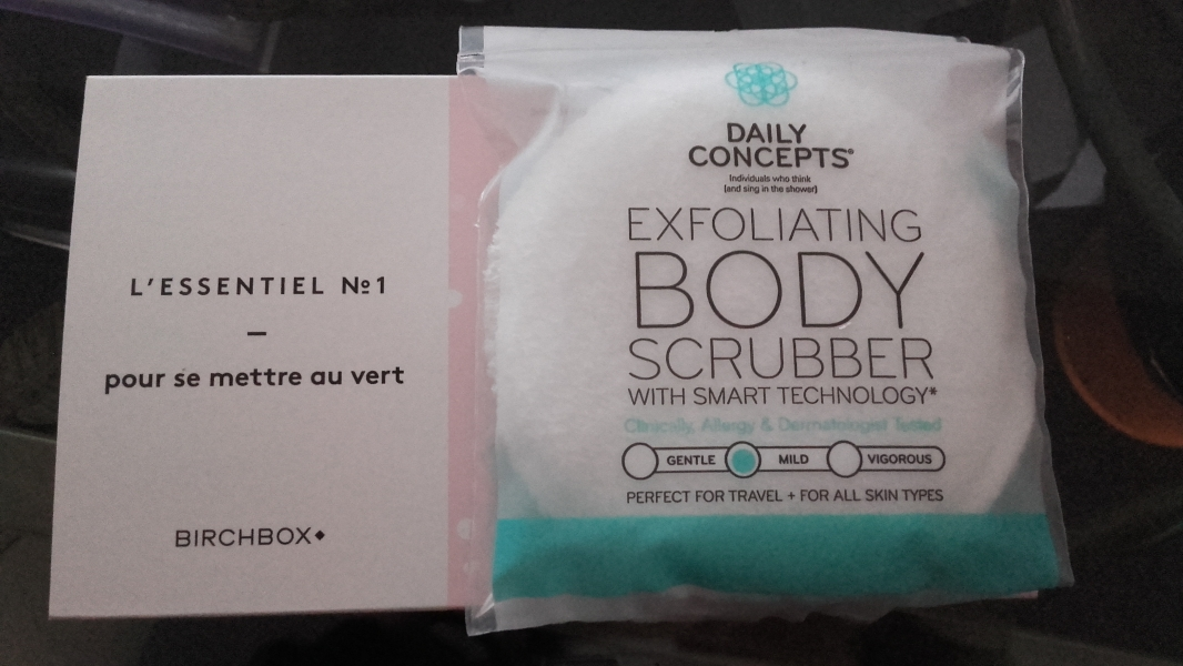 Swatch Eponge exfoliante corps, Daily Concepts