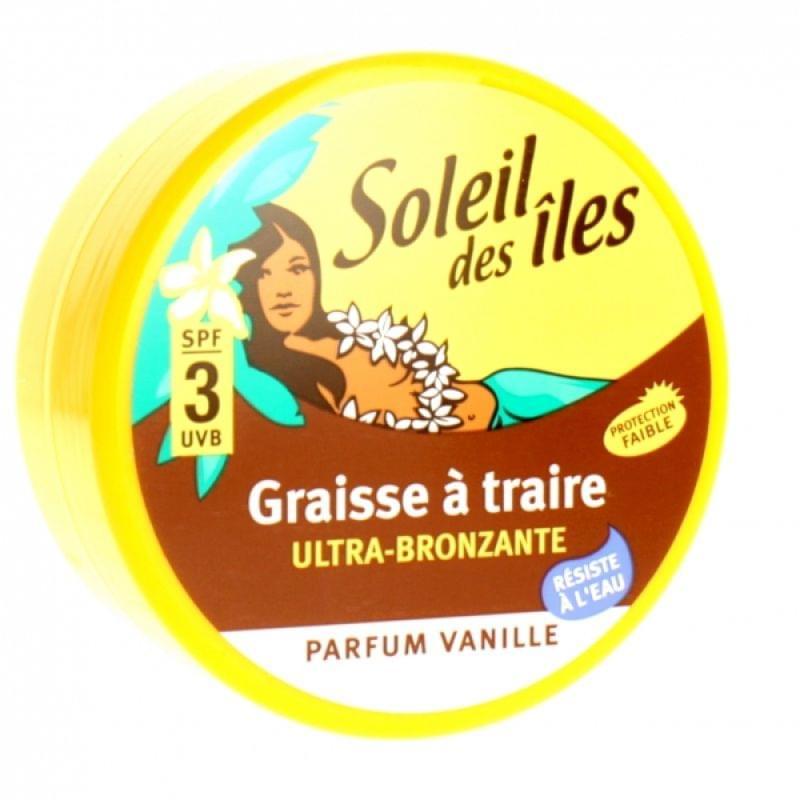 Graisse à Traire SPF3 - Parfum vanille, Soleil Des Îles - Infos et avis
