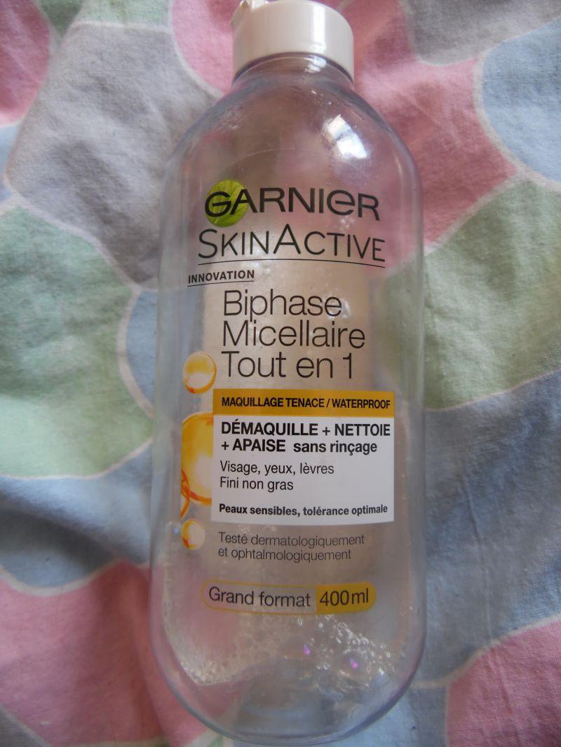 Swatch Biphase Micellaire Tout en 1, Garnier