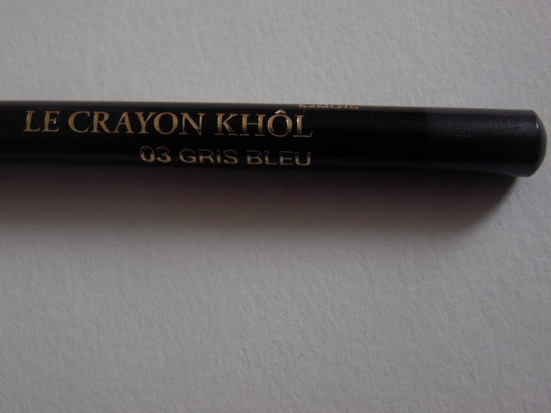 Swatch Crayon khol, Lancôme