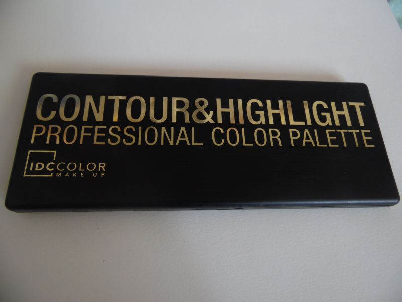 Swatch Contour & highlight, IDC Color Makeup