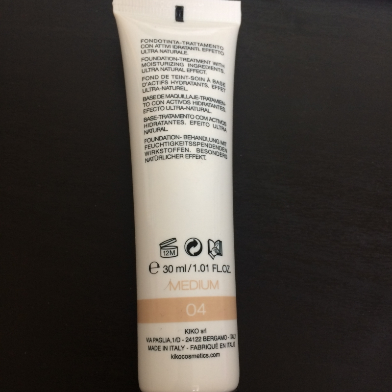 Swatch BB Cream SPF 15, Kiko