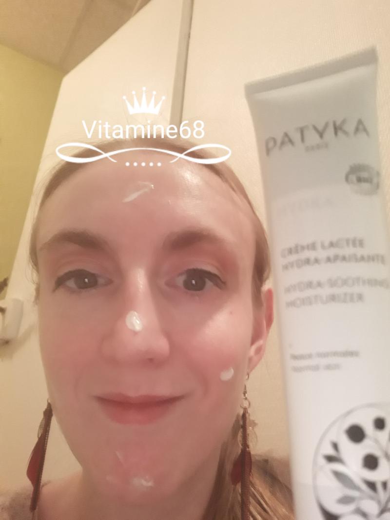 Swatch Crème Lactée Hydra-Apaisante, Patyka