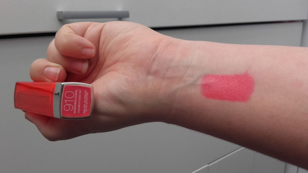 Swatch Color Sensational - Rouge à Lèvres, Gemey-Maybelline