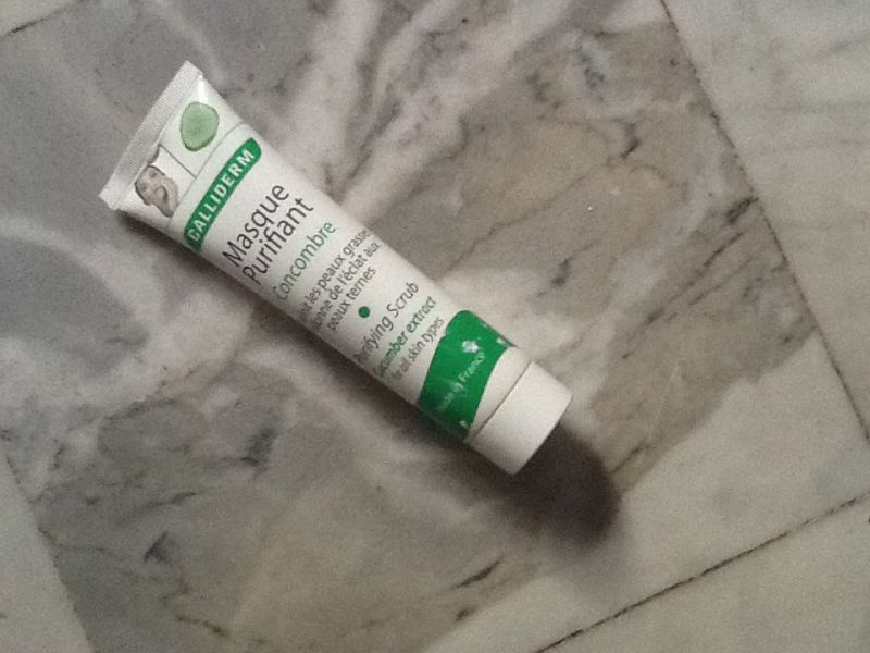 Masque purifiant concombre, Calliderm - Infos et avis