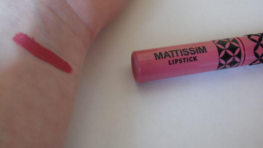 Swatch Mattissim Lipstick, Nocibé