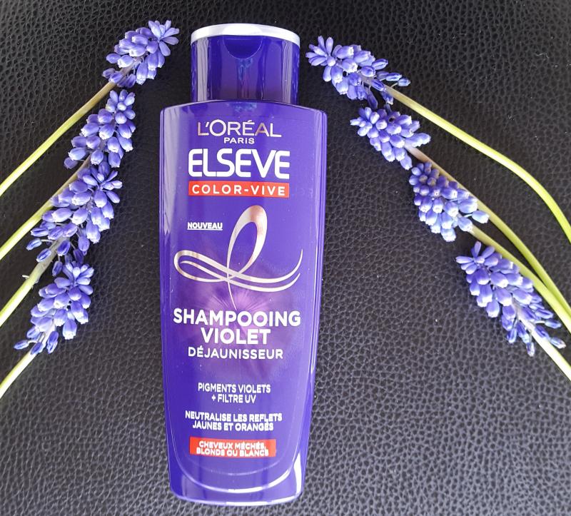 Swatch Shampooing violet, Elsève