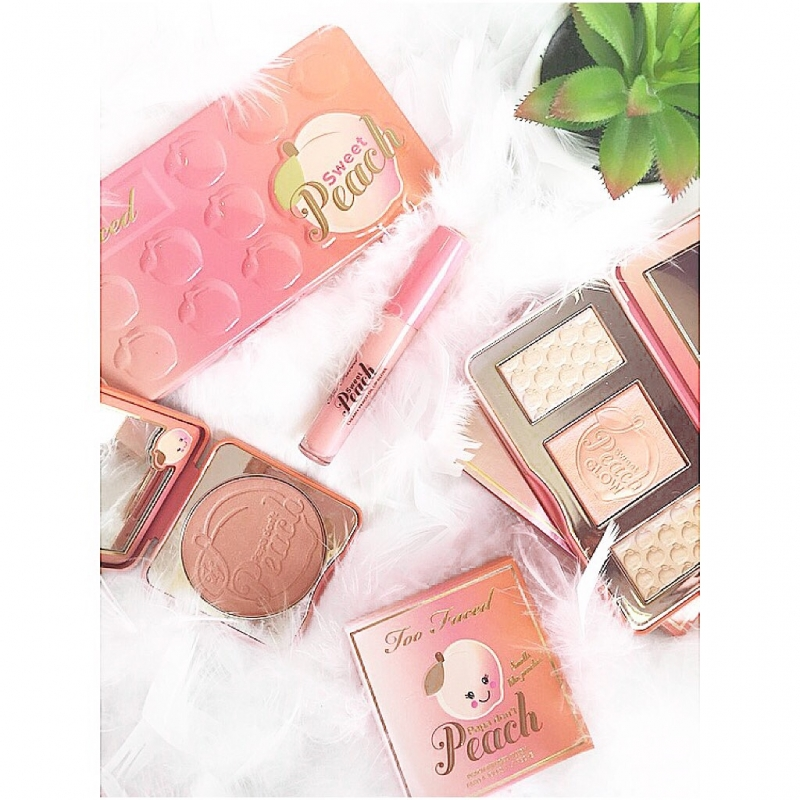Swatch Sweet Peach Creamy Oil - Gloss, Too Faced