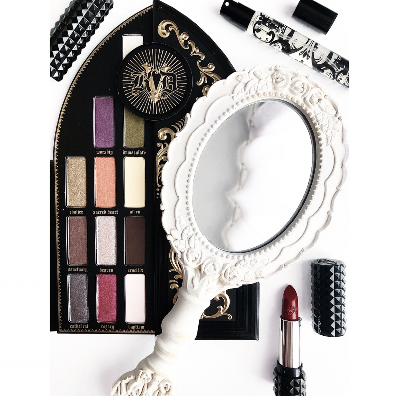 Swatch Palette Saint and Sinner, Kat Von D