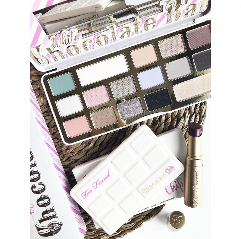 Swatch White chocolate bar, Too Faced