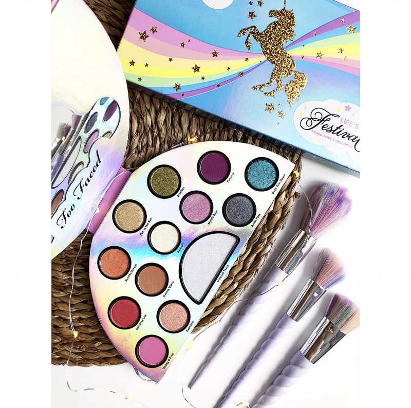 Swatch Palette Yeux Life's a Festival, Too Faced