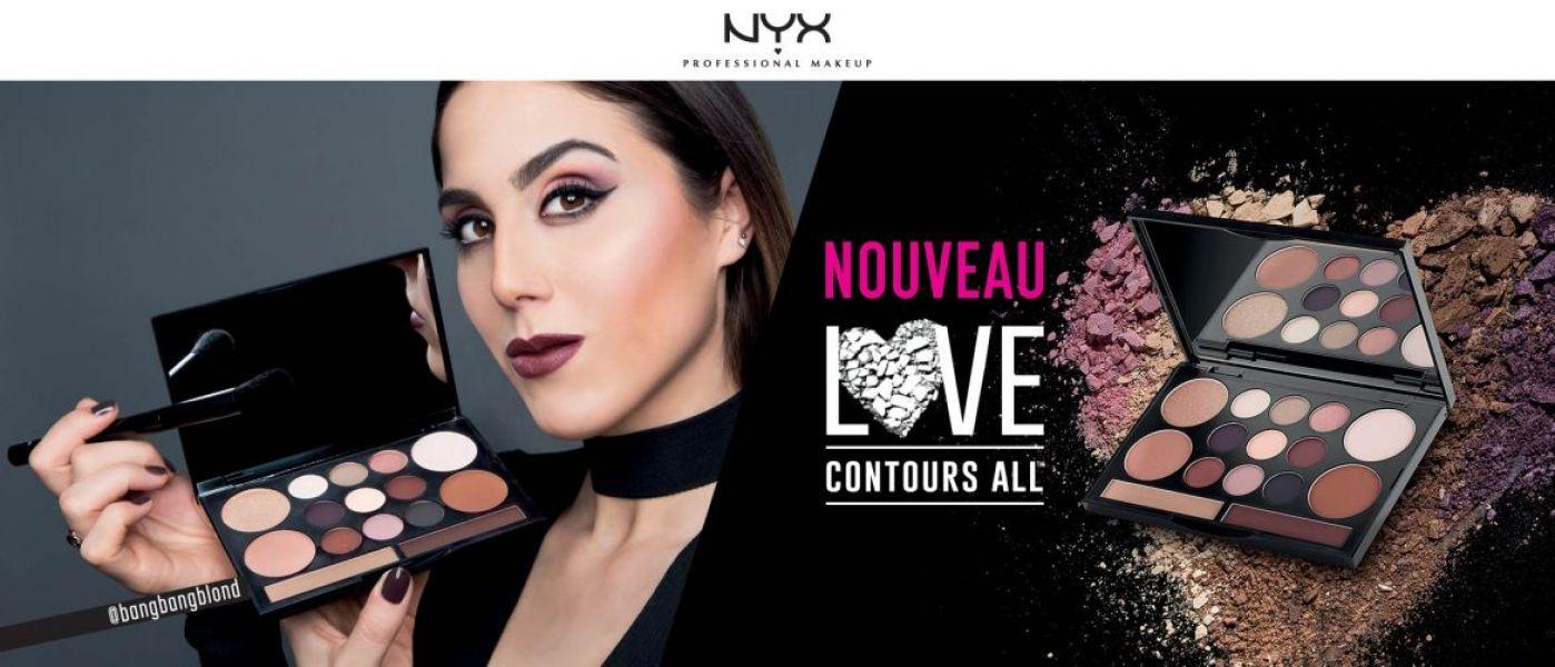 All contour love palette, NYX - Infos et avis