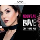 All contour love palette, NYX