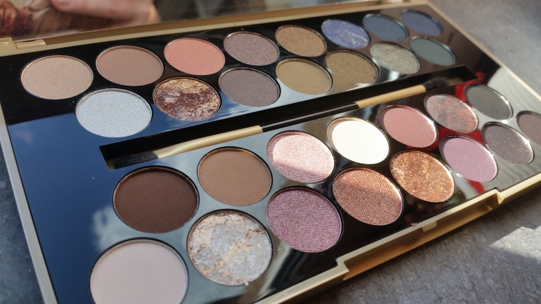 Swatch Palette Fortune Favours the Brave, Makeup Revolution