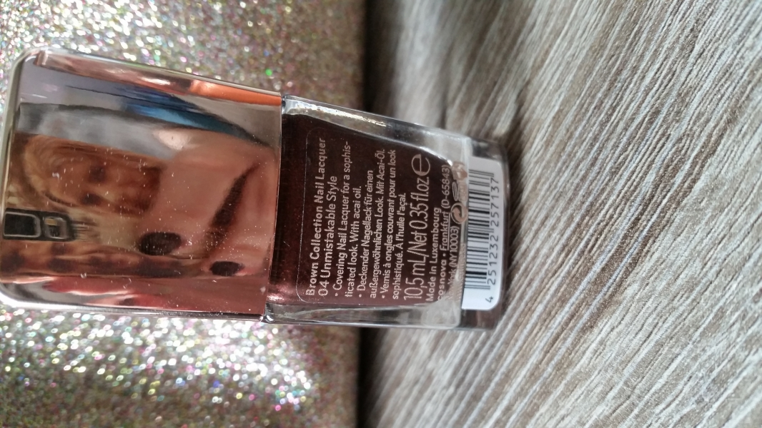 Swatch Catrice brown collection, Catrice